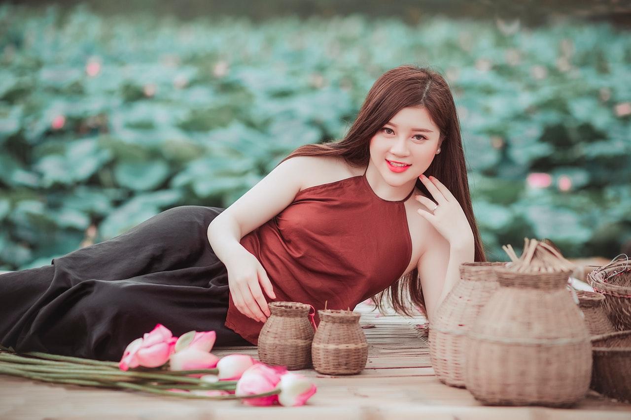 Vietnamese young woman